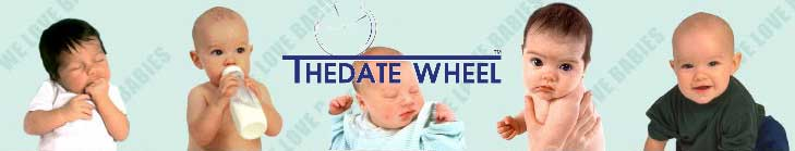 Calculate baby due date with The Date Wheel